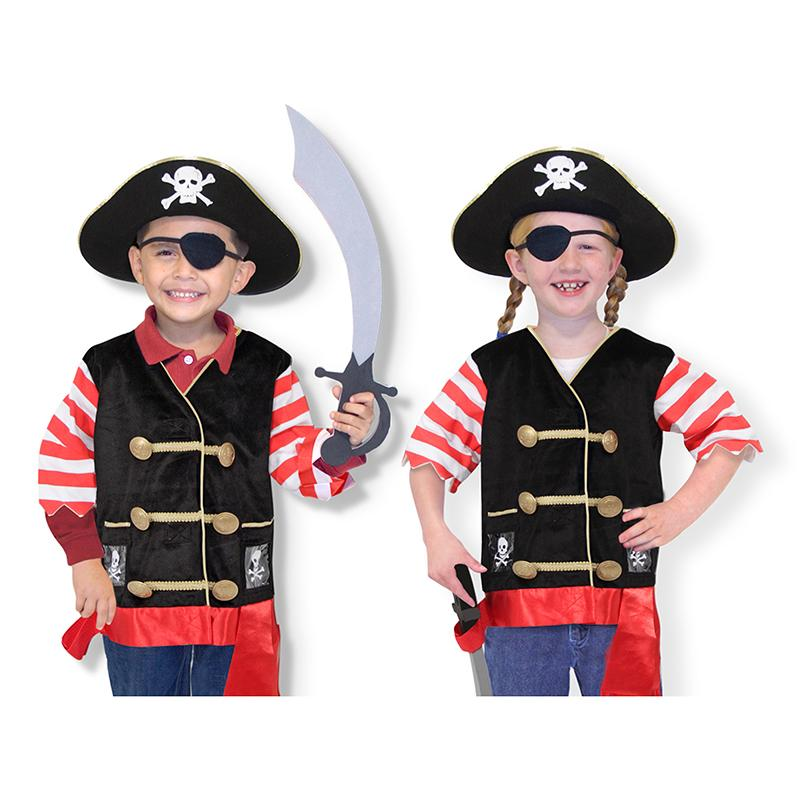 Pirate Role Play Costume Set - Happki