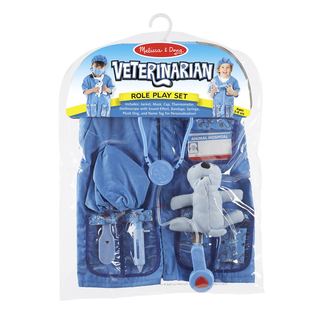 Veterinarian Role Play Costume Set - Happki