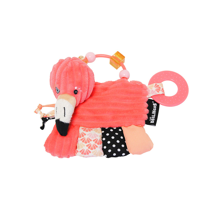 Activity rattle Flamingos the flamingo - Happki