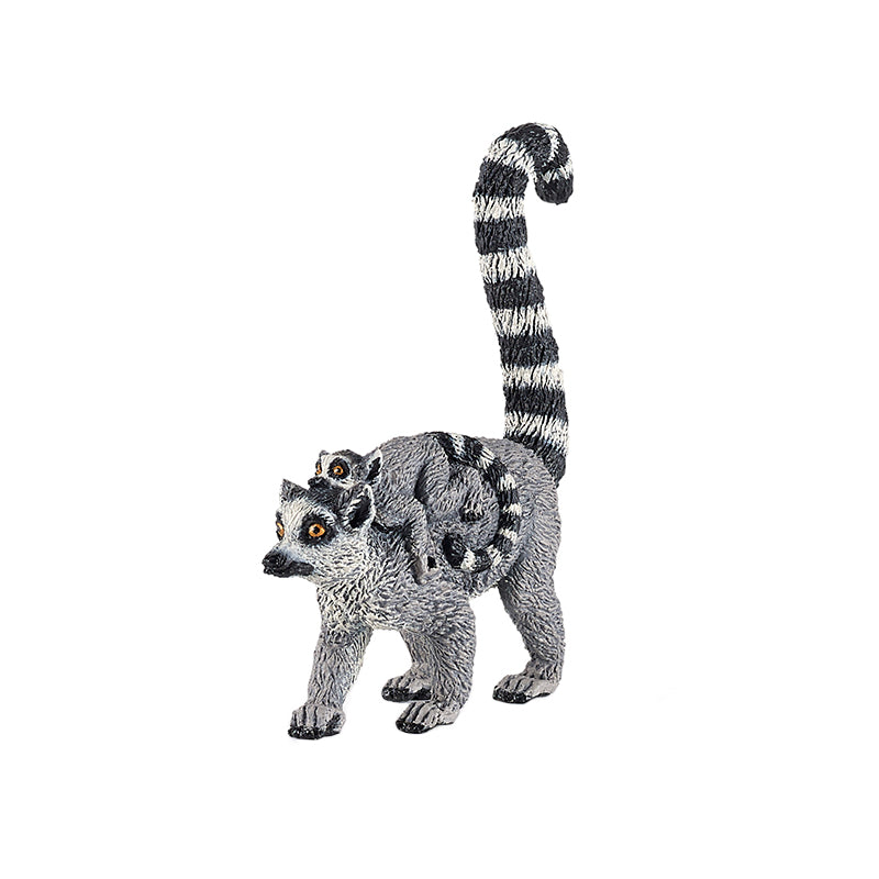 Papo Lemur and Baby Figure - Happki