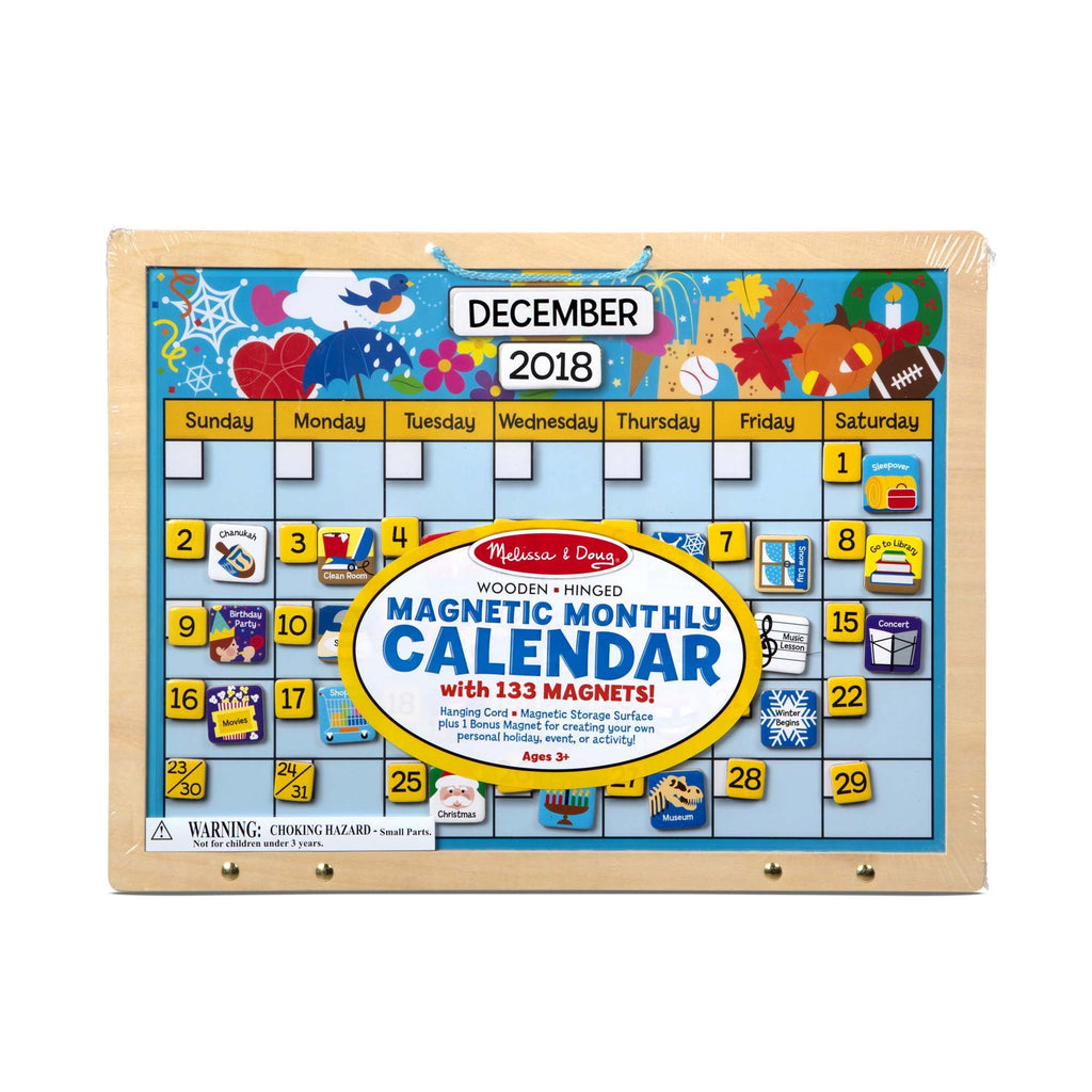 Monthly Magnetic Calendar - Happki