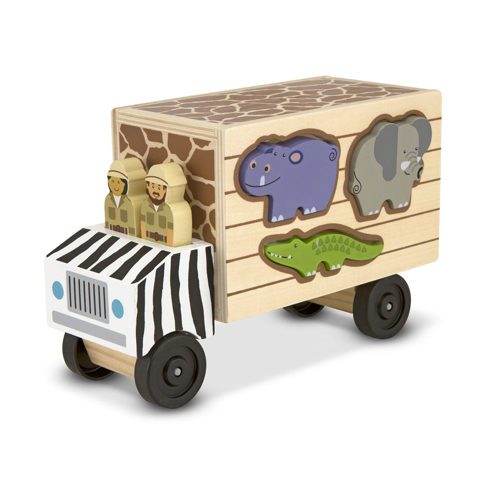 Animal Rescue Wooden Play Set - Happki