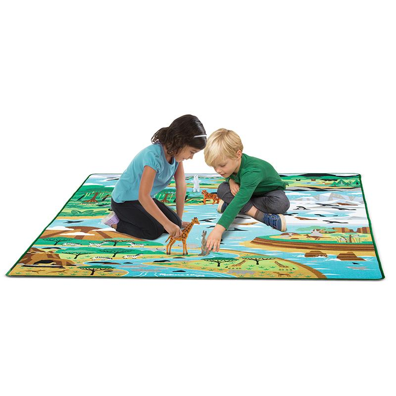 Jumbo Habitats Activity Rug - Happki