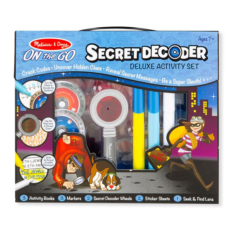 Secret Decoder Deluxe Activity Set - ON the GO - Happki