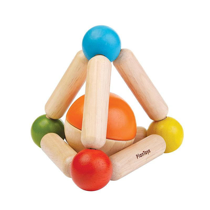 Triangle Clutching Toy - Happki