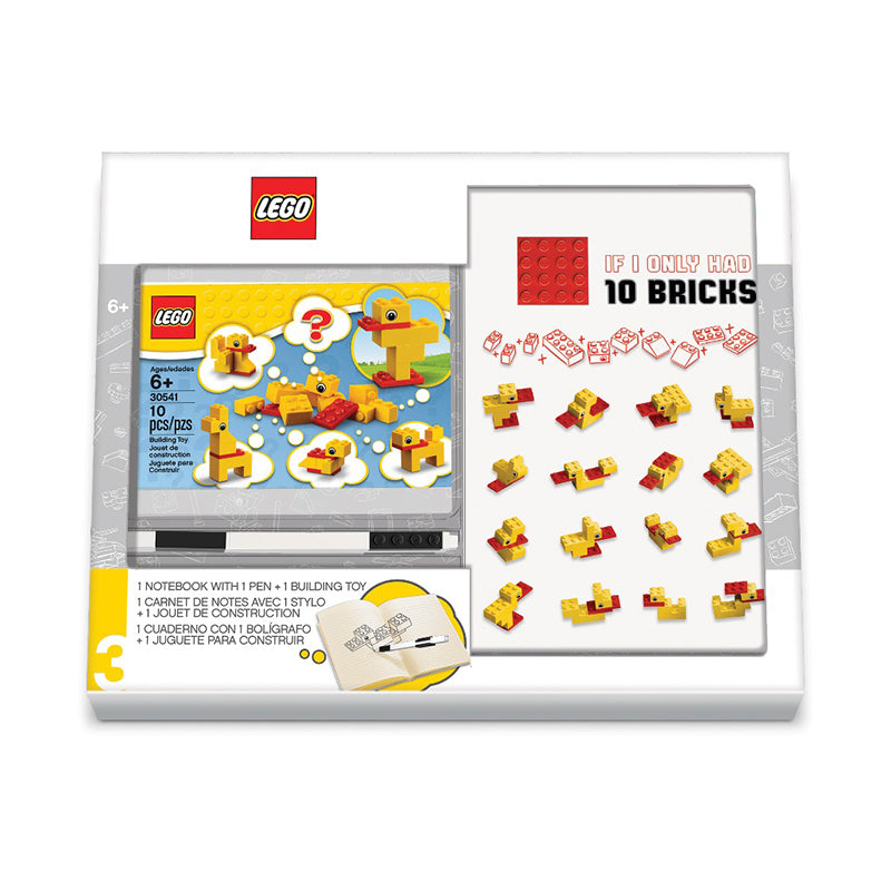 LEGO® Duck Build Notebook & Pen Set - Happki