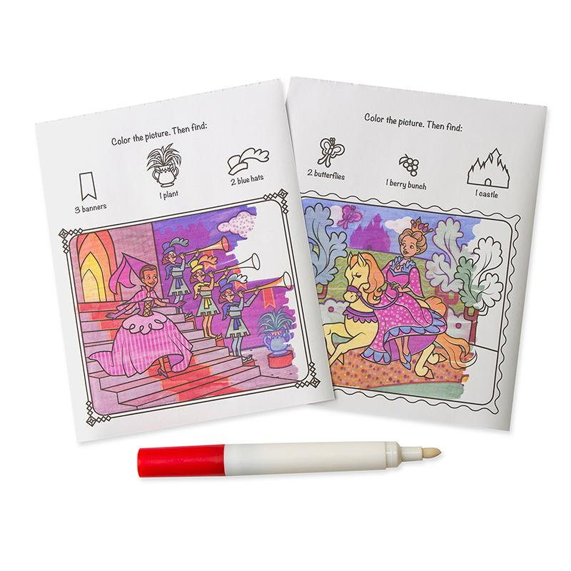 On the Go ColorBlast No-Mess Coloring Pad - Princess - Happki