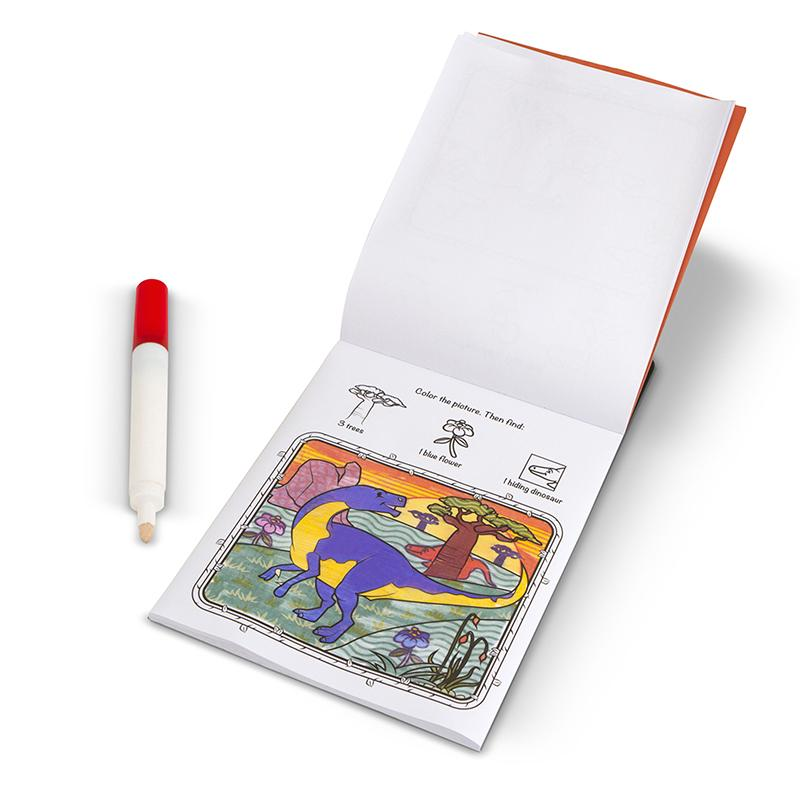 On the Go ColorBlast No-Mess Coloring Pad - Dinosaurs - Happki