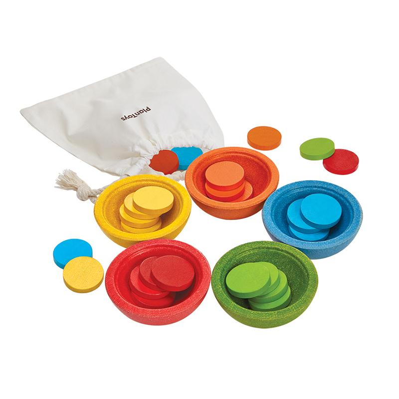 Sort & Count Cups - Happki
