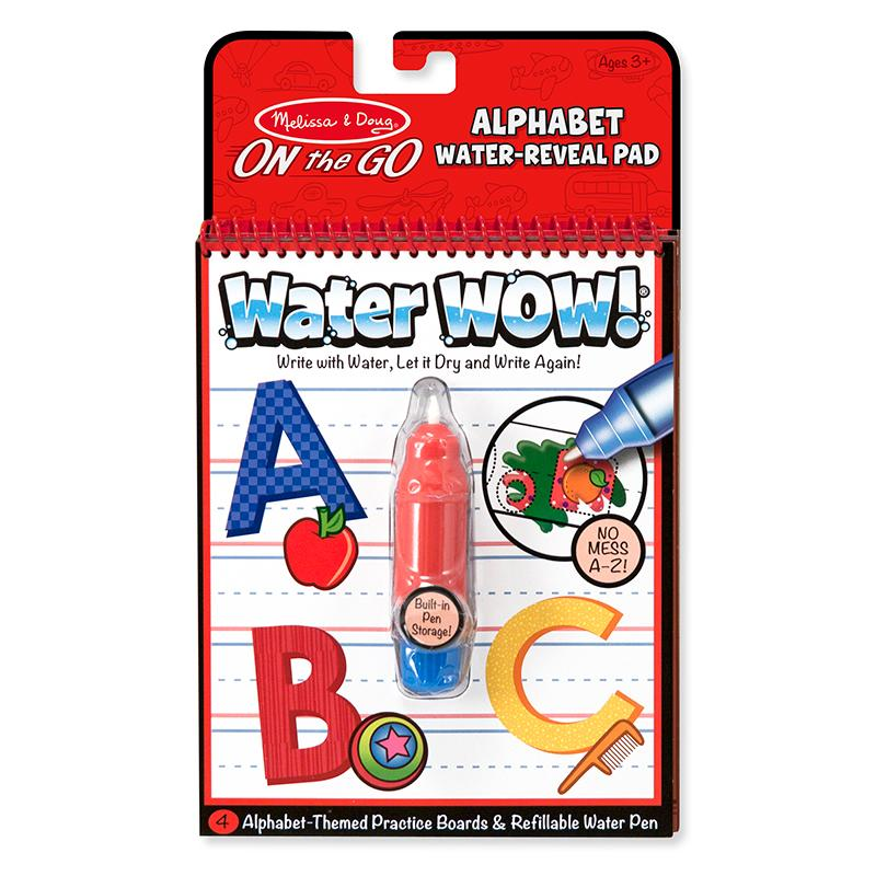 Water WOW! Alphabet - ON the GO Travel Activity - Happki