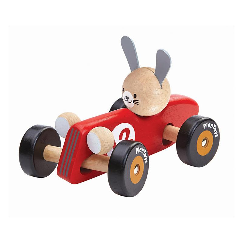 Rabbit Racing Car - Happki