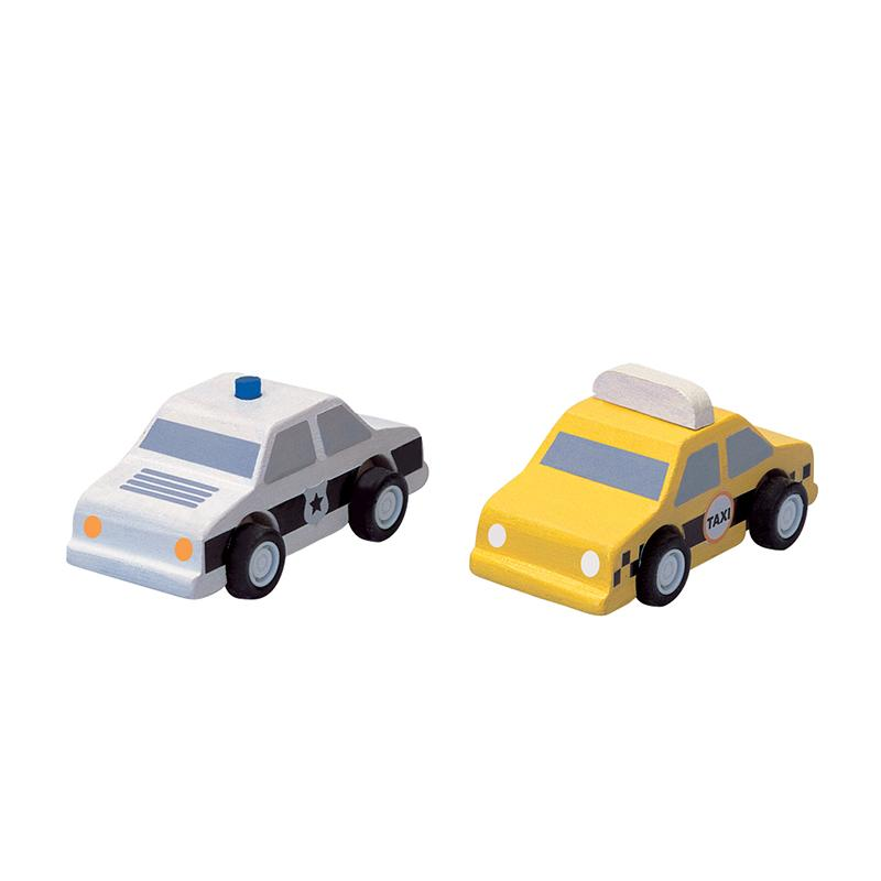 City Taxi & Police Car - Happki