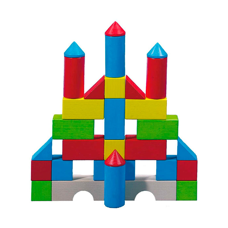 Colored Building Blocks Set - Happki