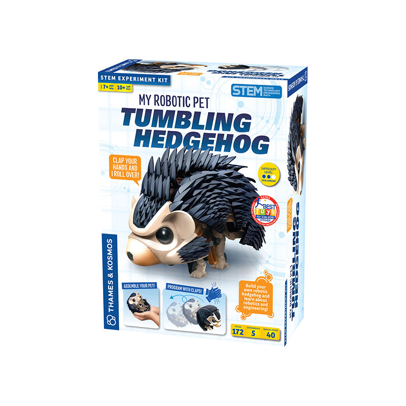 My Robotic Pet - Tumbling Hedgehog - Happki