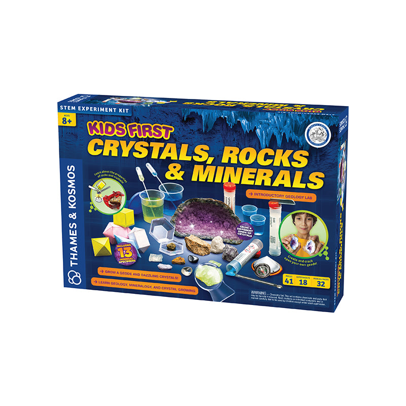 Kids First Crystals Rocks & Minerals - Happki