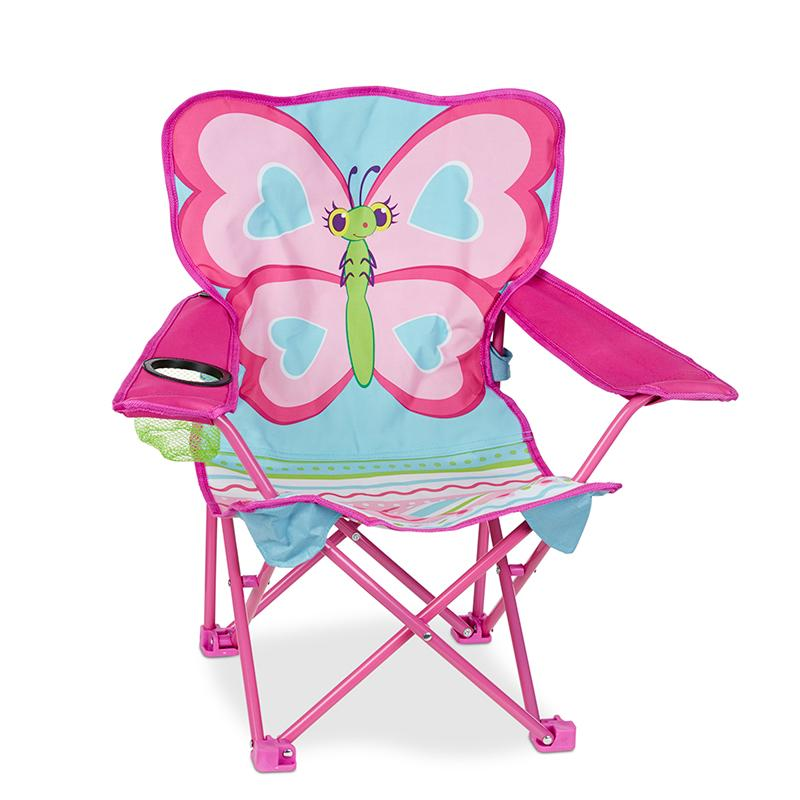 Cutie Pie Butterfly Camp Chair - Happki