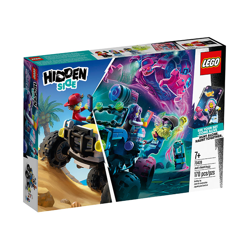 LEGO® Hidden Side Jack's Beach Buggy - Happki