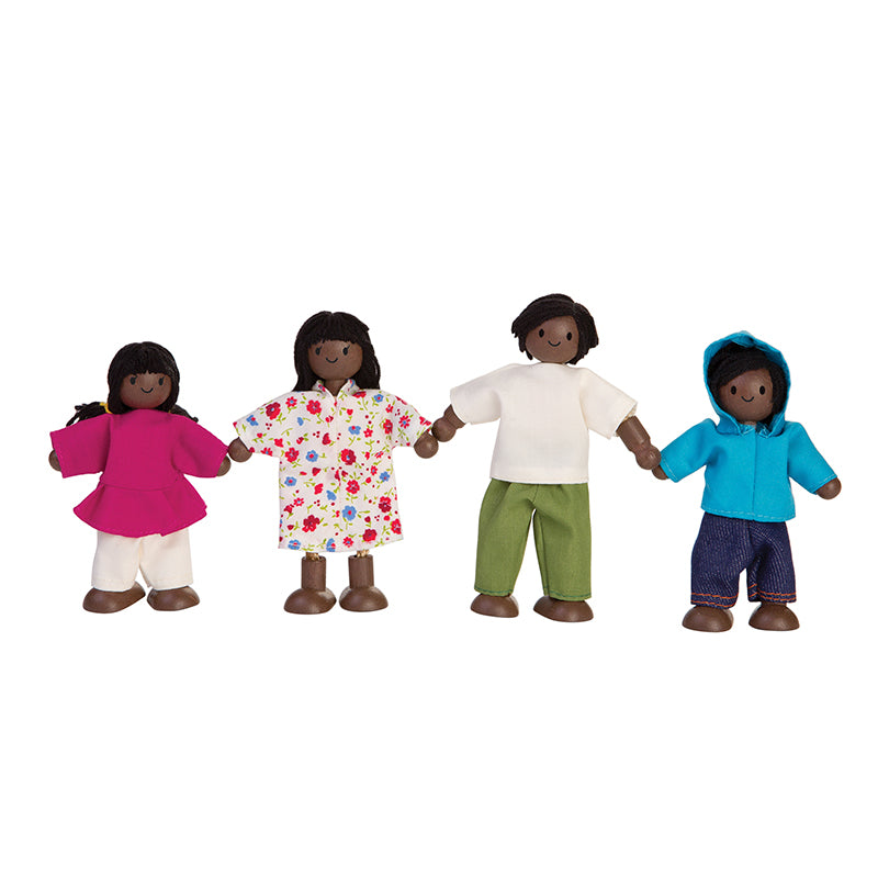 African American Doll Family - Happki