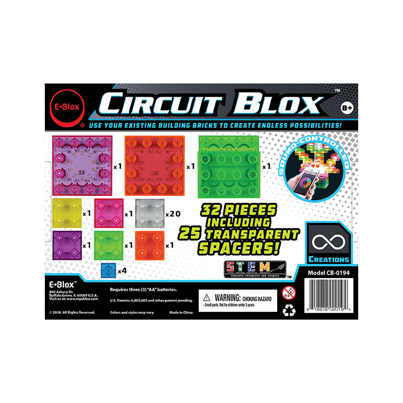 Circuit Blox Lights 32 Piece Set - Happki