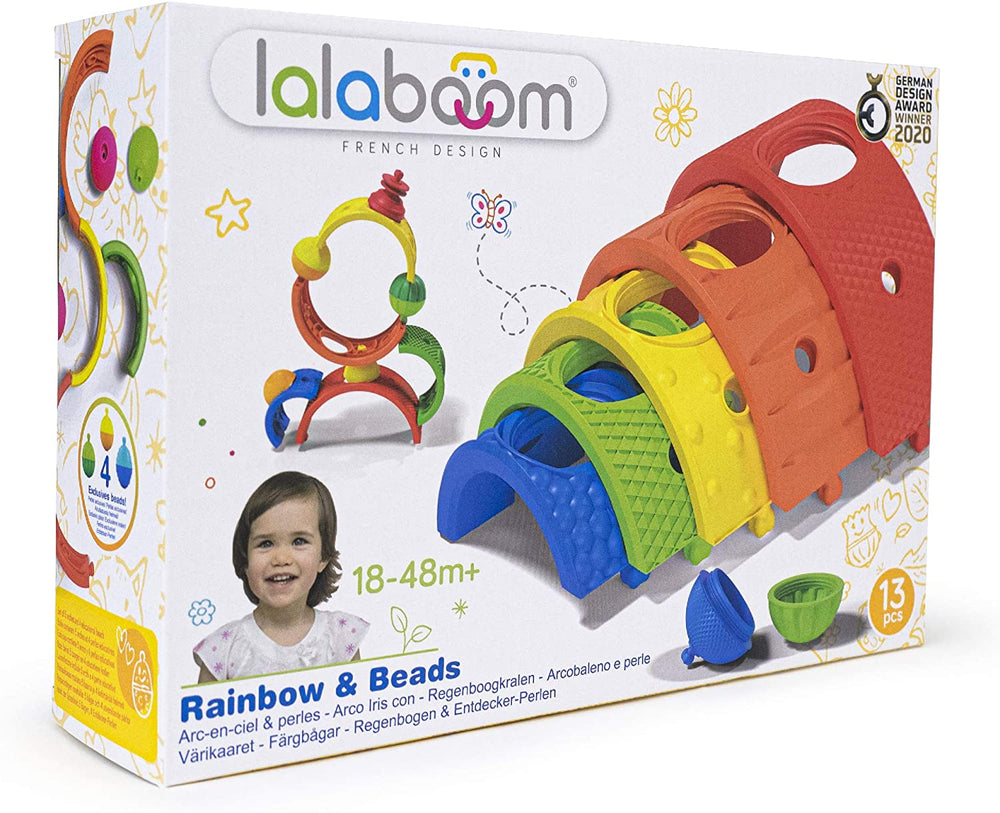 Lalaboom  Rainbow arches and beads 13 pieces - Happki