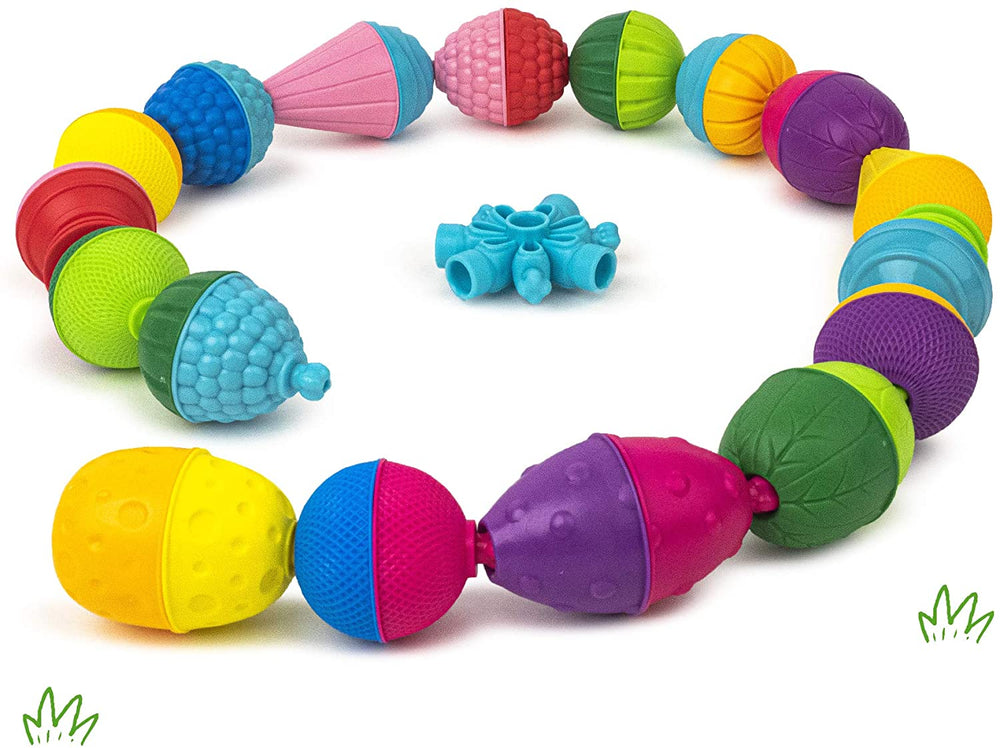 Lalaboom Activity Beads 36 Pieces - Happki