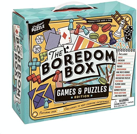 The Boredom Box by Professor Puzzle - Happki