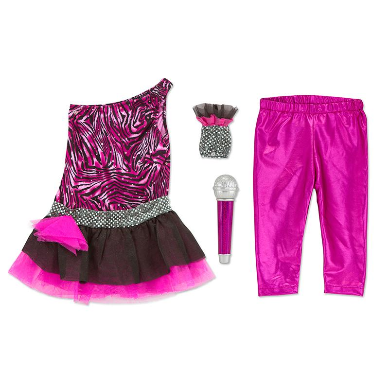 Rock Star Role Play Costume Set - Happki