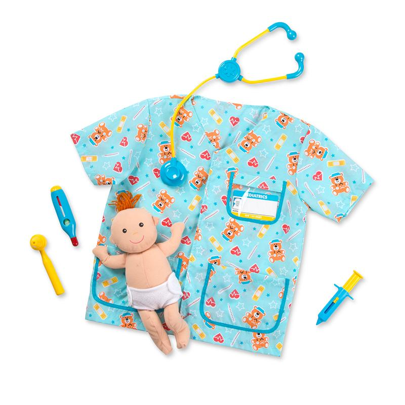 Pediatric Nurse Role Play Costume Set - Happki