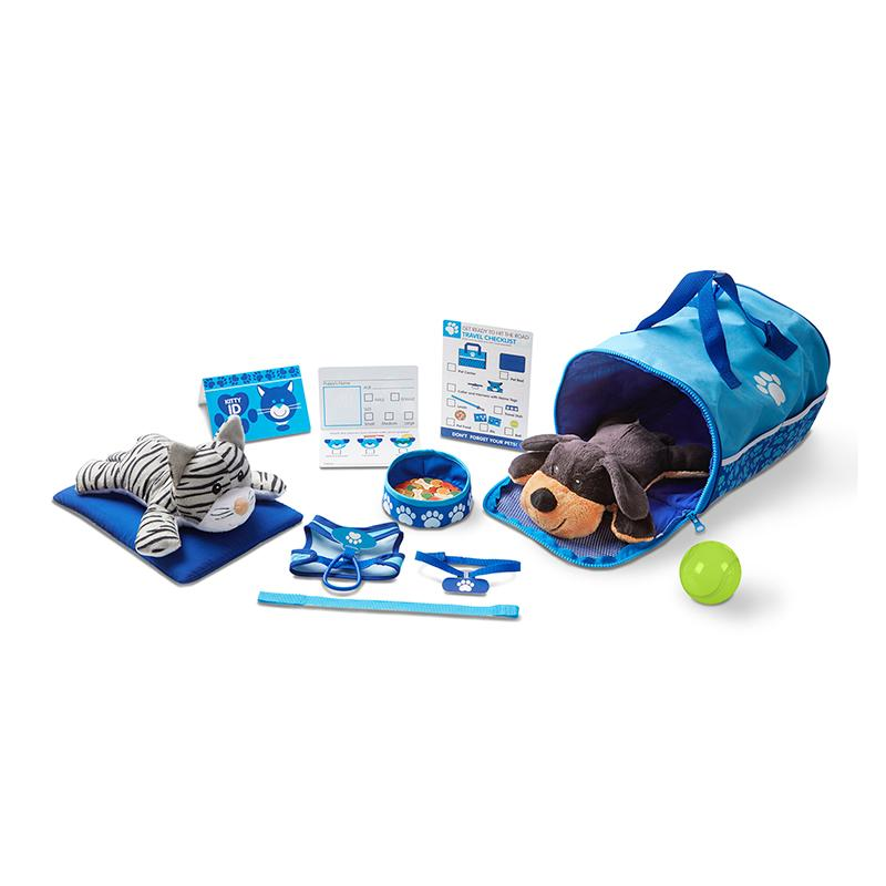 Tote & Tour Pet Travel Play Set - Happki