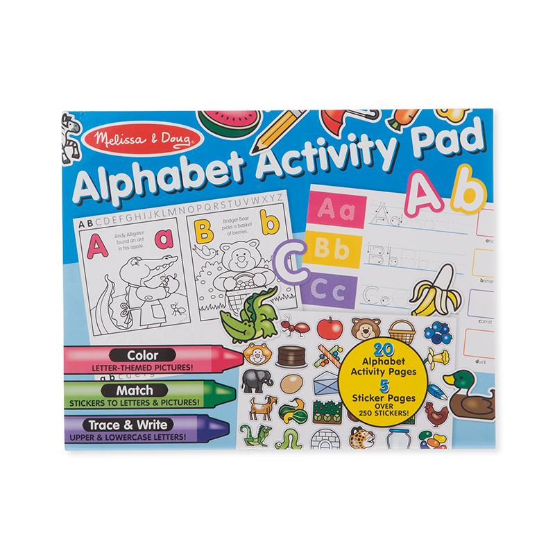 Alphabet Activity Pad - Happki
