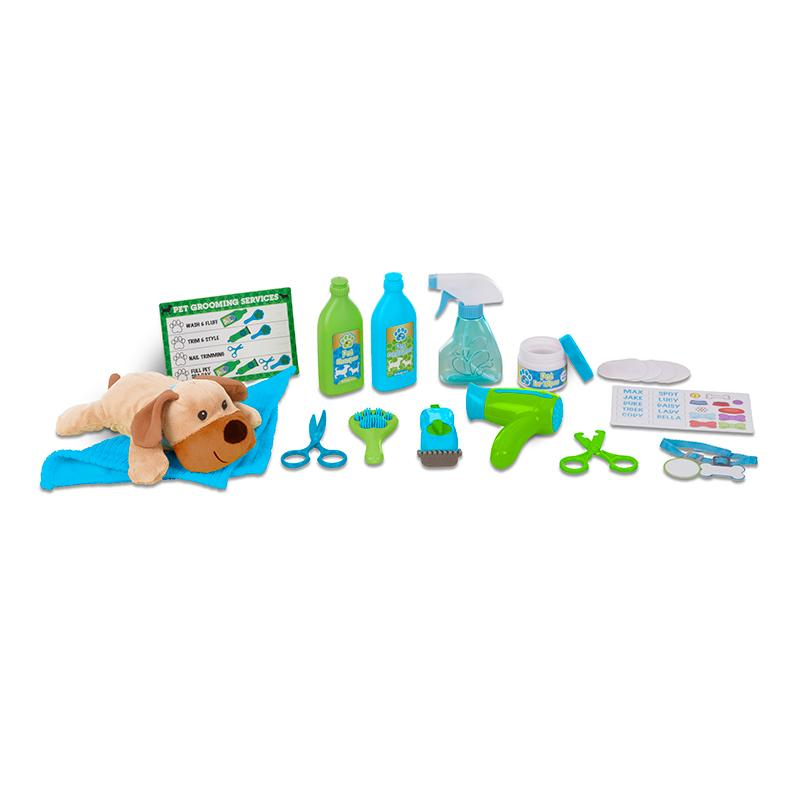 Wash & Trim Dog Groomer Play Set - Happki