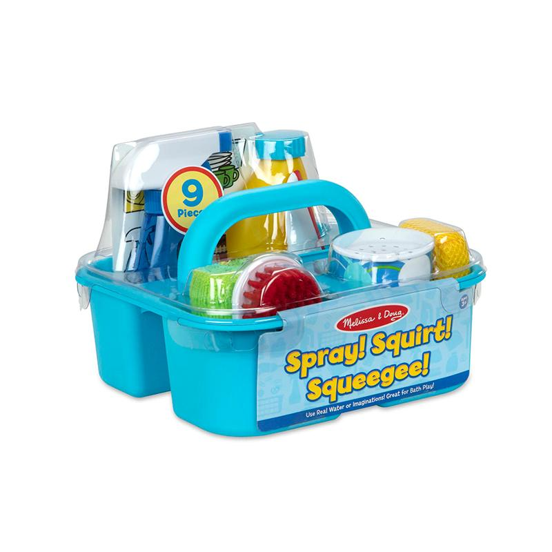 Let's Play House! Spray, Squirt & Squeegee Play Set - Happki