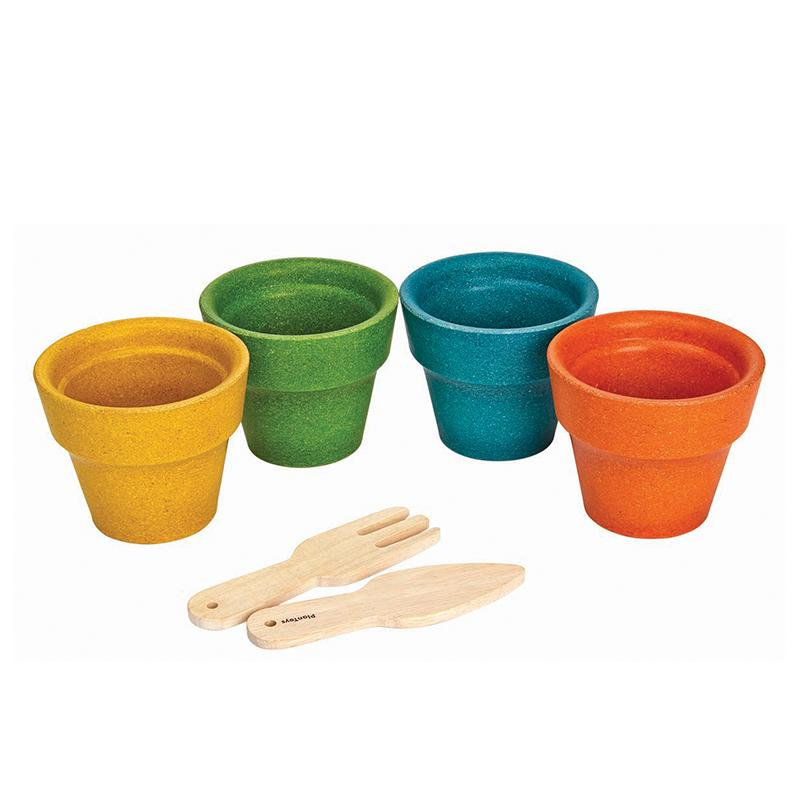 Flower Pot Set - Happki