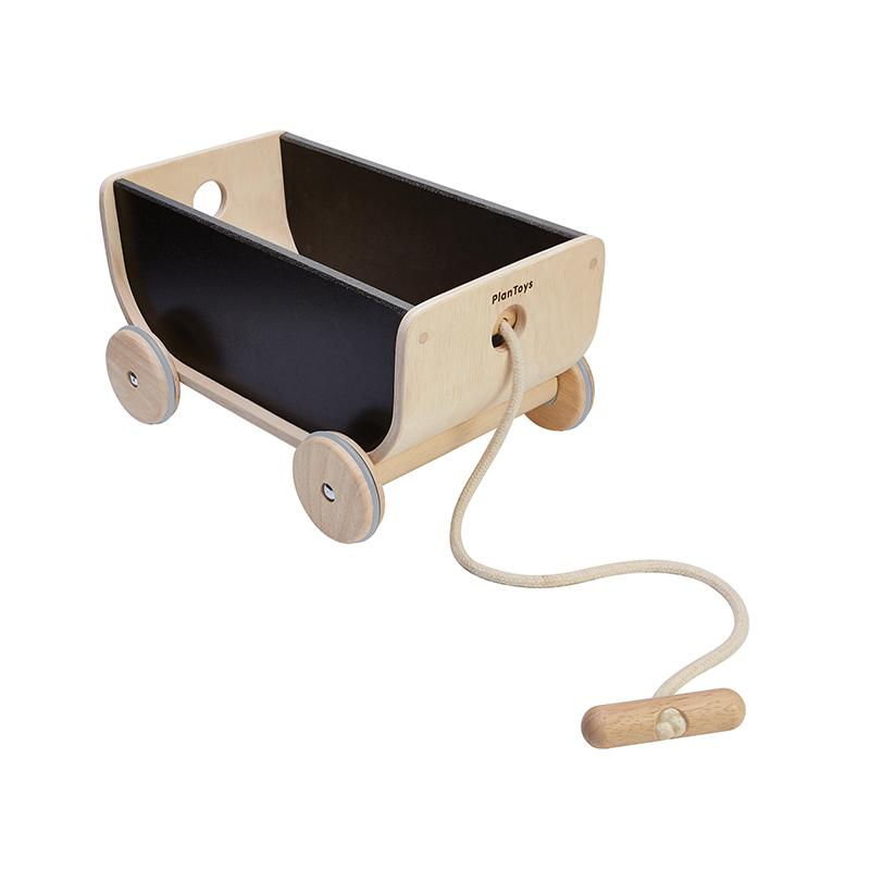 Plan Toys Wagon -black