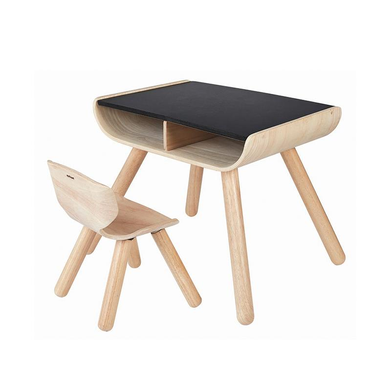Plan Toys Table & Chair - Black
