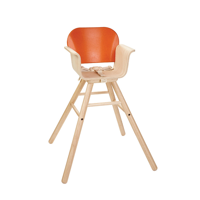 High Chair - Orange - Happki