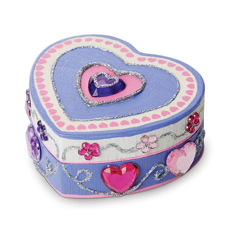 Created by Me! Heart Box Wooden Craft Kit - Happki