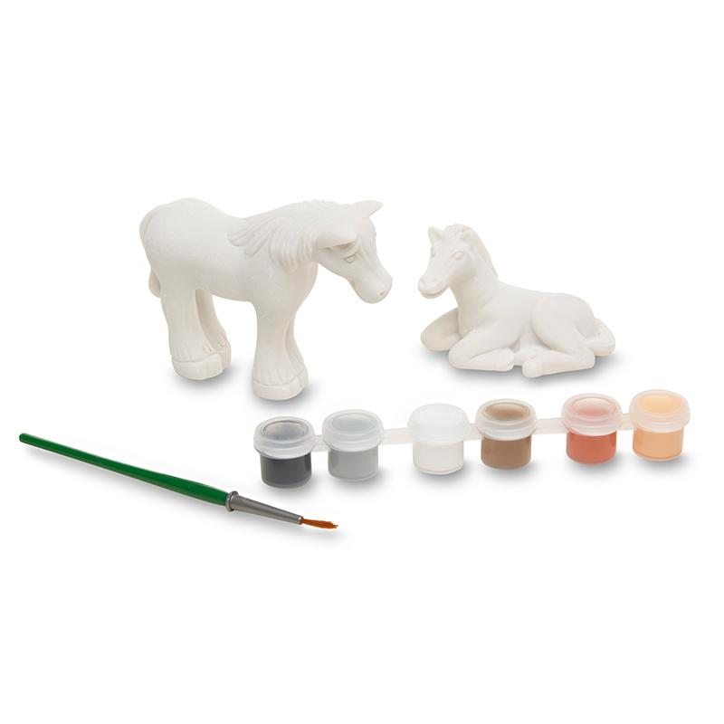 Created by Me! Horse Figurines Craft Kit - Happki