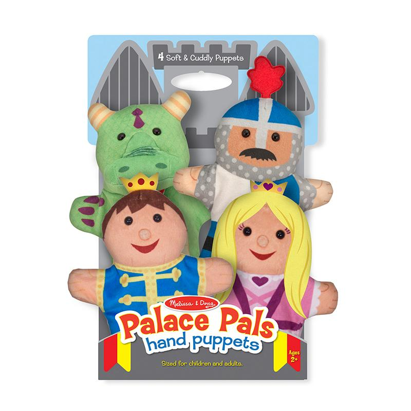 Melissa and Doug Palace Pals Hand Puppets
