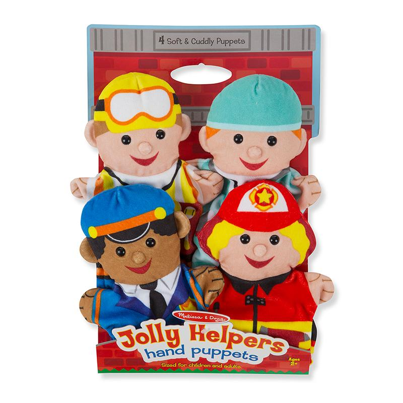 Jolly Helpers Hand Puppets - Happki