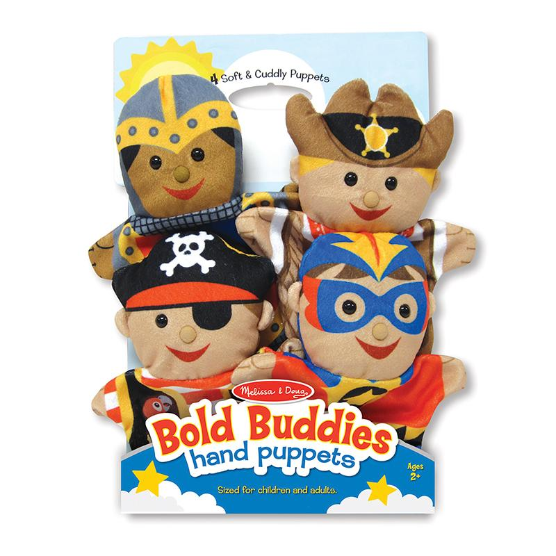 Melissa and Doug Bold Buddies Hand Puppets