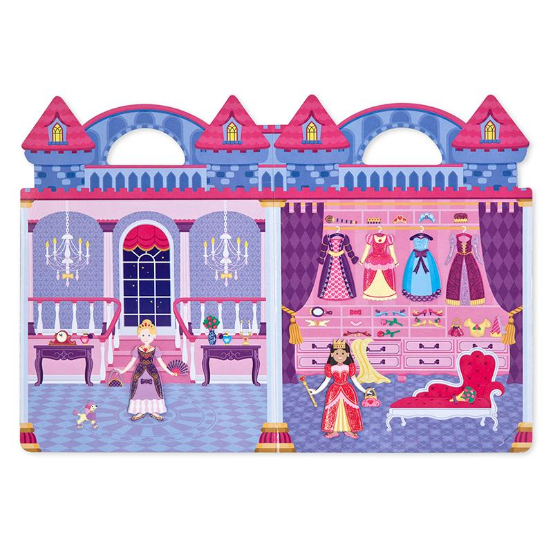 Puffy Stickers Play Set: Princess - Happki