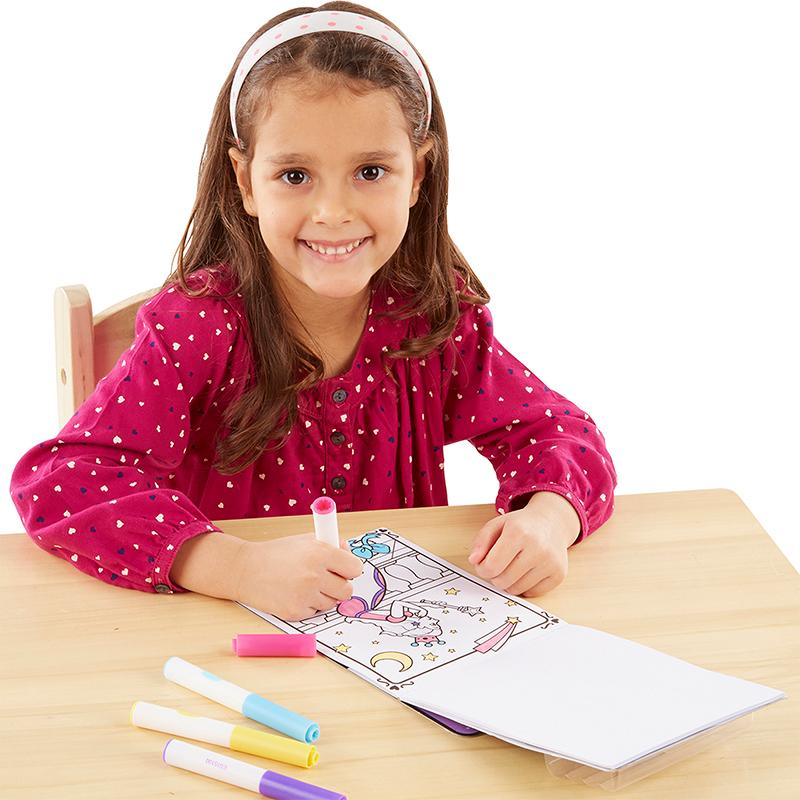 Magicolor - On the Go - Princess Coloring Pad - Happki