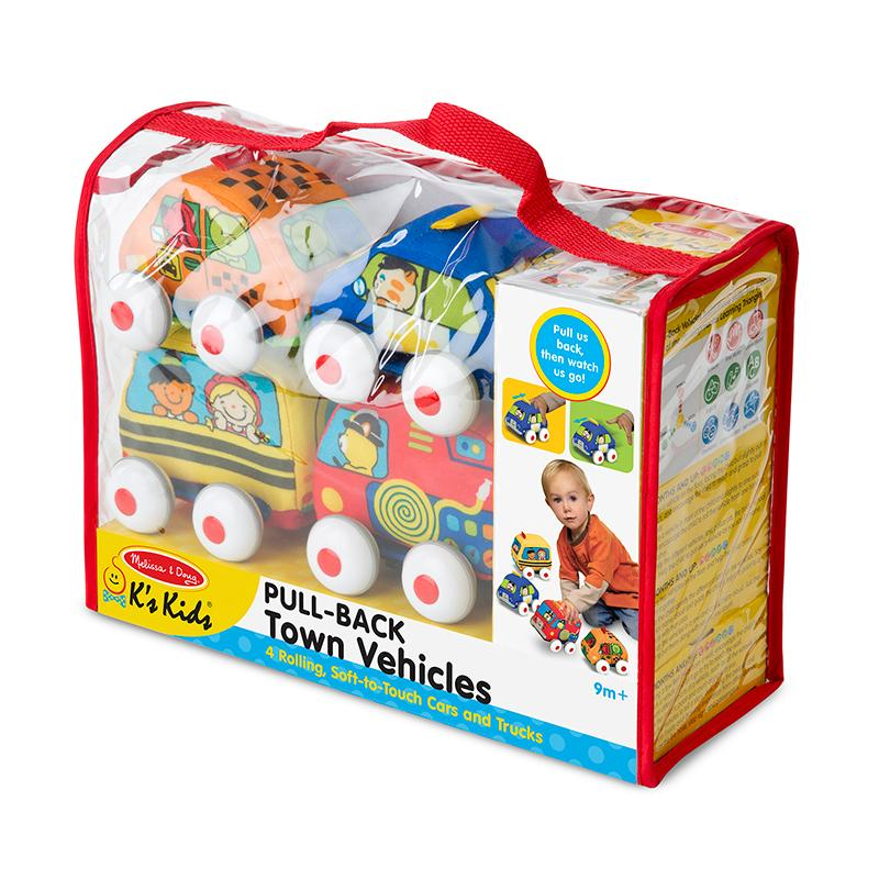Pull-Back Vehicles Baby and Toddler Toy - Happki