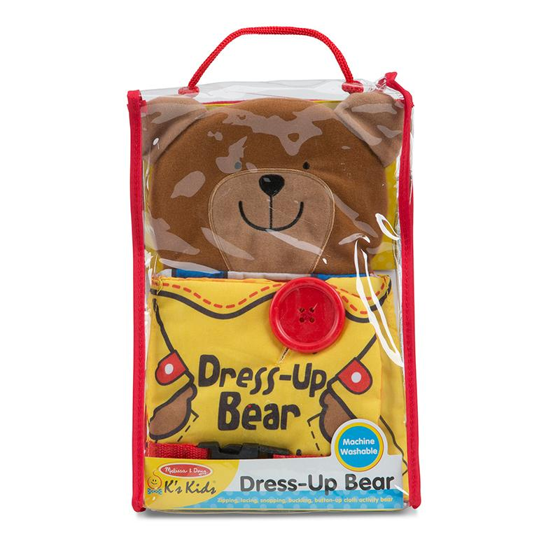Soft Activity Book - Dress Up Bear - Happki