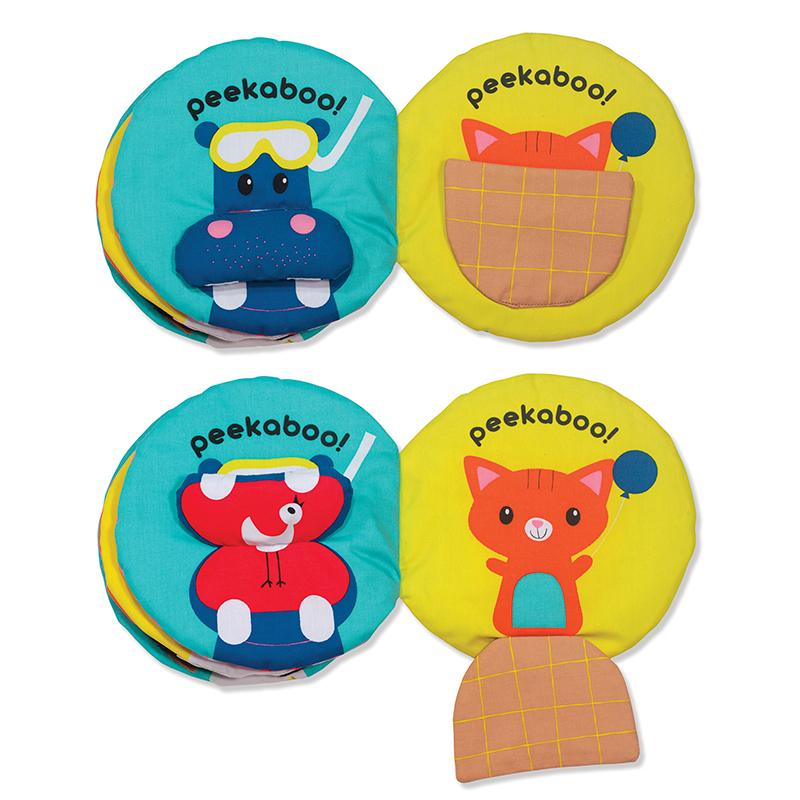 Soft Activity Book - Peekaboo - Happki