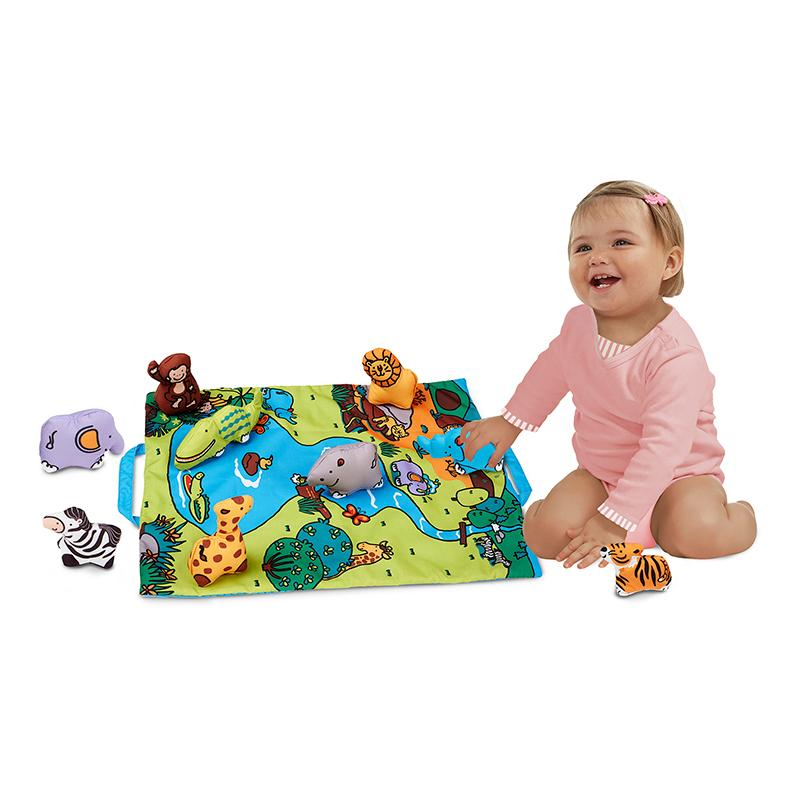 Take-Along Safari Play Mat - Happki