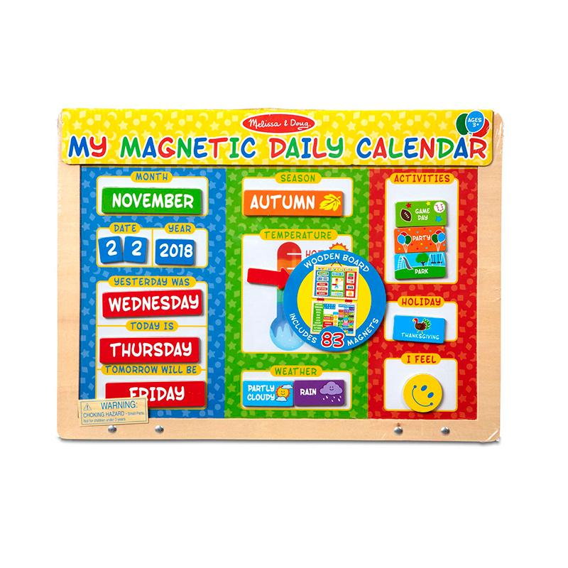 My Magnetic Daily Calendar - Happki