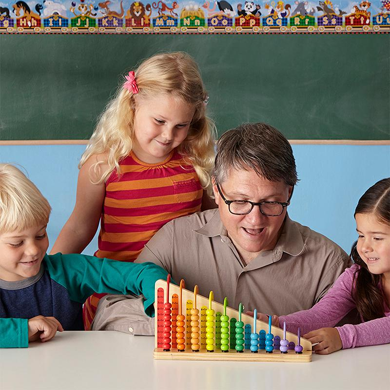 Melissa and Doug Add & Subtract Abacus