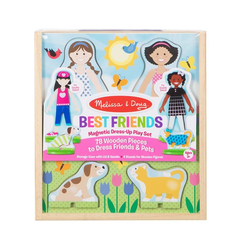 Best Friends Magnetic Dress-Up Play Set - Happki